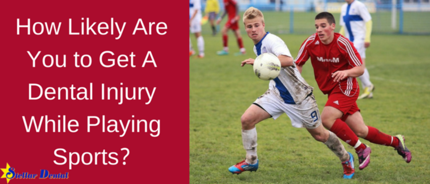 How Likely Are You to Get A Dental Injury While Playing Sports?
