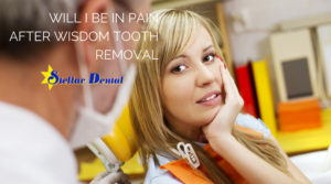 pain after wisdom tooth removal in Silver Spring & Hyattsville, MD