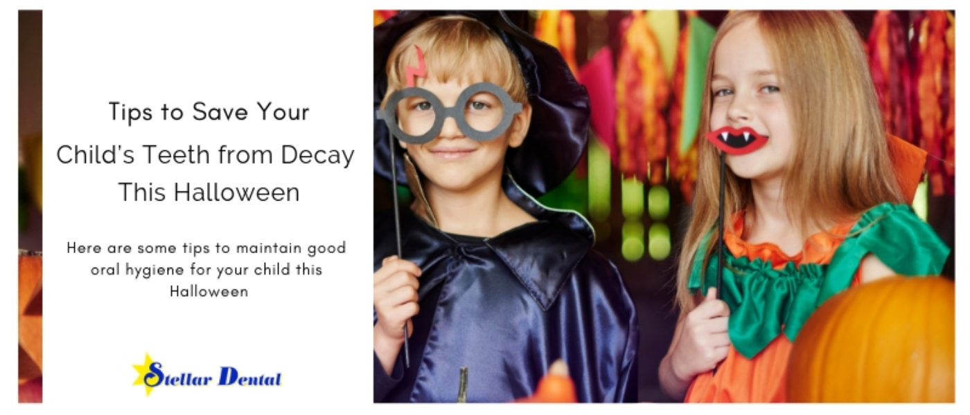 Tips to Save Your Child's Teeth from Decay This Halloween