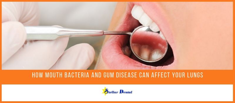 mouth bacteria and gum disease affect your lungs